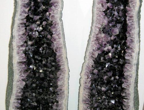Twin Amethysts